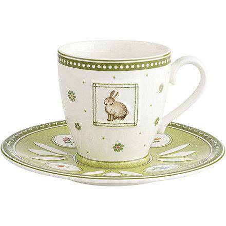 VILLEROY u0026 BOCH Farmers Spring coffee cup u0026 saucer set £26 #shopandboxit UK  sc 1 st  Pinterest & 94 best Villeroy and Boch Easter images on Pinterest | Farmers ...