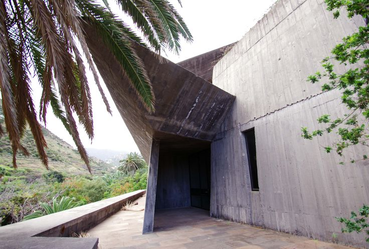 Vallehermoso botanical garden Fernando Menis Architect