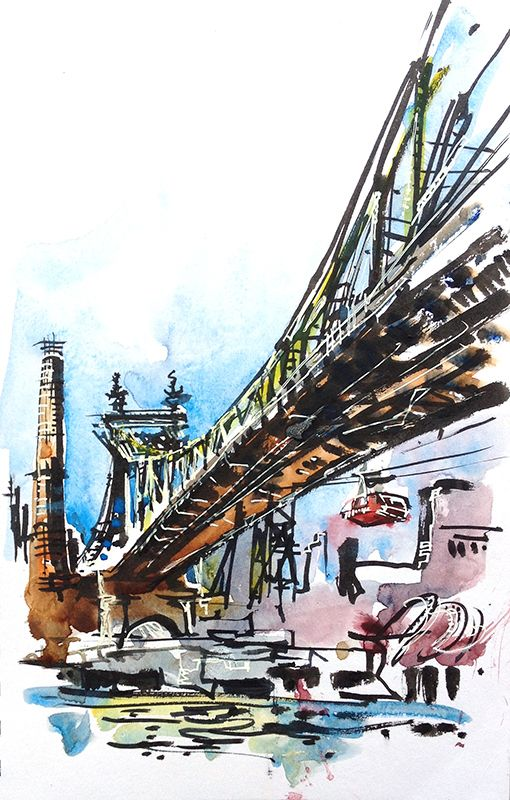 Urban Sketchers: More from New York