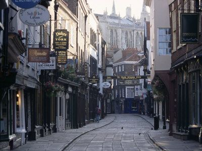 How could you not want to go here? Stonegate, York, UK