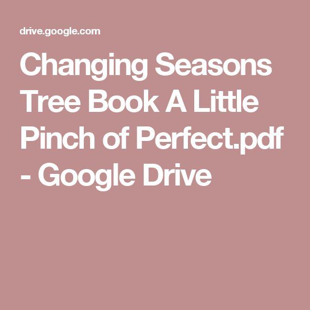 Changing Seasons Tree Book A Little Pinch of Perfect.pdf - Google Drive