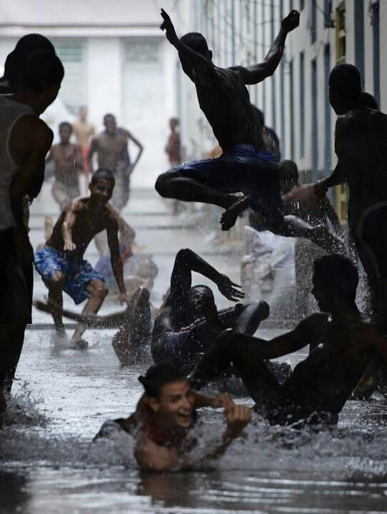 Rain in Havanna