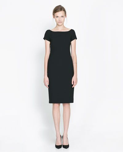 BOAT NECK DRESS - Dresses - Woman - New collection | ZARA Philippines