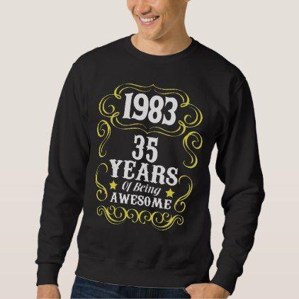 35th Birthday Shirt For Men/Women. - individual customized designs custom gift ideas diy