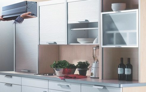Inox-Rolling Shutters For Homes Cabinet shutter, Give your home Neat and Clean look. High quality German product with elegant look that is how the new Rolling Shutter presents itself, impressively meeting the highest requirements for modern design. Whether in the office, kitchen, bathroom, bedroom or living room discover the numerous furniture application possibilities that our tambour door elements open up.