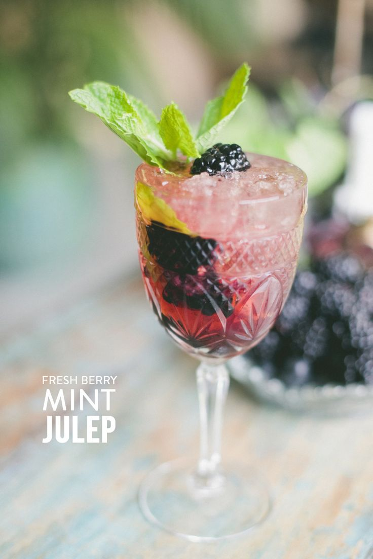 Fresh berry mint julep   Photography: One Love Photography - www.onelove-photo.com/  Read More: http://www.stylemepretty.com/living/2014/09/05/the-fig-mint-julep/
