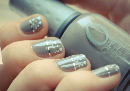 Wedding Day Nails - #bride #bridal #beauty #nailart #bridesandbeauty - bellashoot.com
