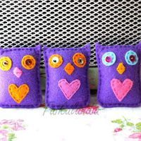The tree Musketeers...� #owl #felt #handmade #myowndesign #feltowl #handcraft #crafts #crafter #feltro