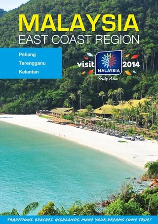 Malaysia  East Coast Tourist Region Brochure. See more brochures in Bookletia Travel Destinations Library.
