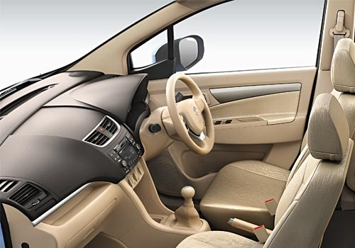 New Maruti Ertiga - marvellous interior