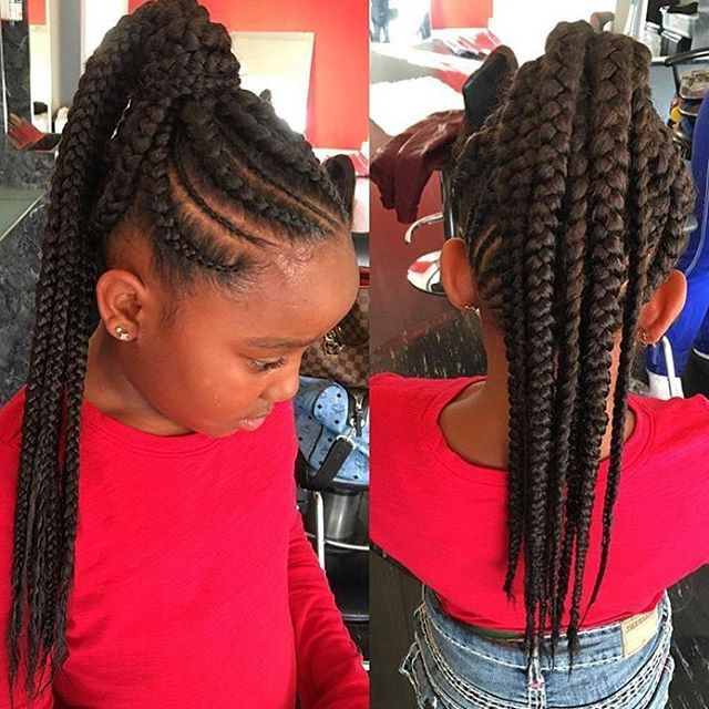 Stylist Feature How Cute Is This Braided Ponytail On This Little