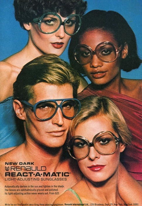 1977 Renauld ReACT A MATIC SUNGLASES