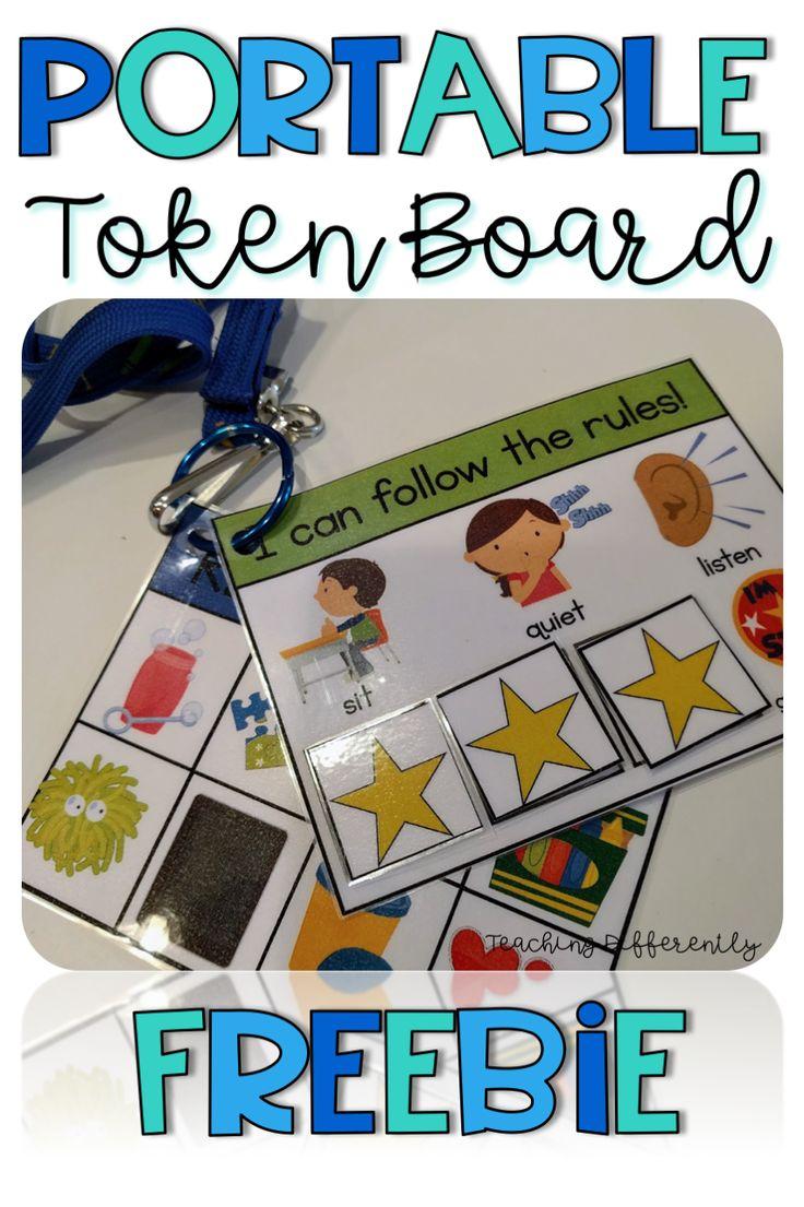 Moveable Token Board