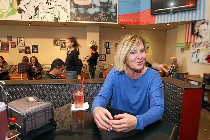Betty Burgers owner Laurie Negro, recruiting to fill three cashier positions, found a number of applicants who have left Santa Cruz County due to the high cost of housing. (Dan Coyro -- Santa Cruz Sentinel)
