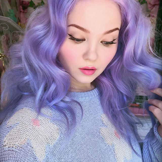 Doe Deere @doedeere New periwinkle ha...Instagram photo | Websta (Webstagram)