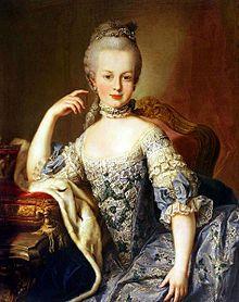 Marie Antoinette , première dame à avoir nommé une ministre de la mode