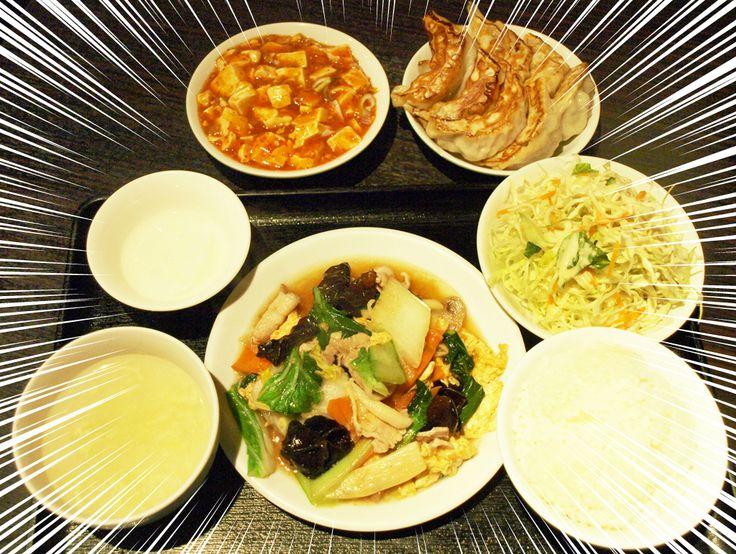 銀座で食べ放題ランチ!なんとそそられる言葉でしょう。土日もランチ営業している「大上海」はそんな1,000円以下の激安ランチを楽しめます。なんとランチは880円で餃子と麻婆豆腐が食べ放題!中華なのでメインメニューで肉も野菜もたっぷりいただけます。それにしてもランチとは言え餃子と麻婆豆腐が食べ放題というのはコスパ良すぎです。ぜひ試してみてはいかがでしょうか?(銀座のグルメ・中華)