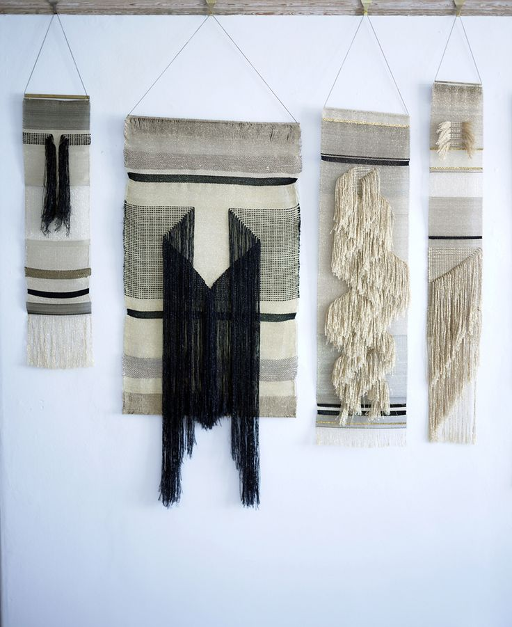 Hand-woven hangings by Justine Ashbee - An Online Magazine - ALL ITEMS LOADED