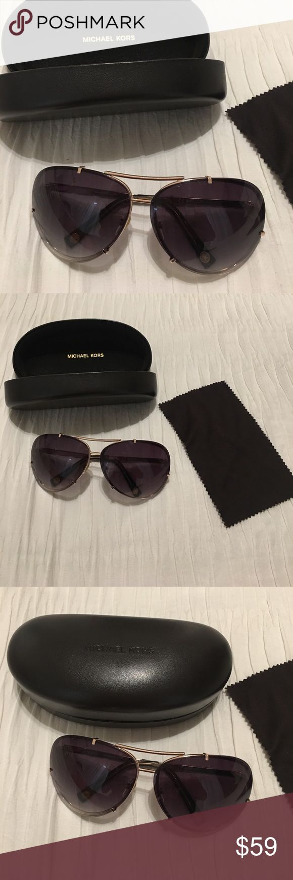 Michael Kors sunglasses Brand new with everything on the picture. No trade. Same day shipping KORS Michael Kors Accessories Sunglasses