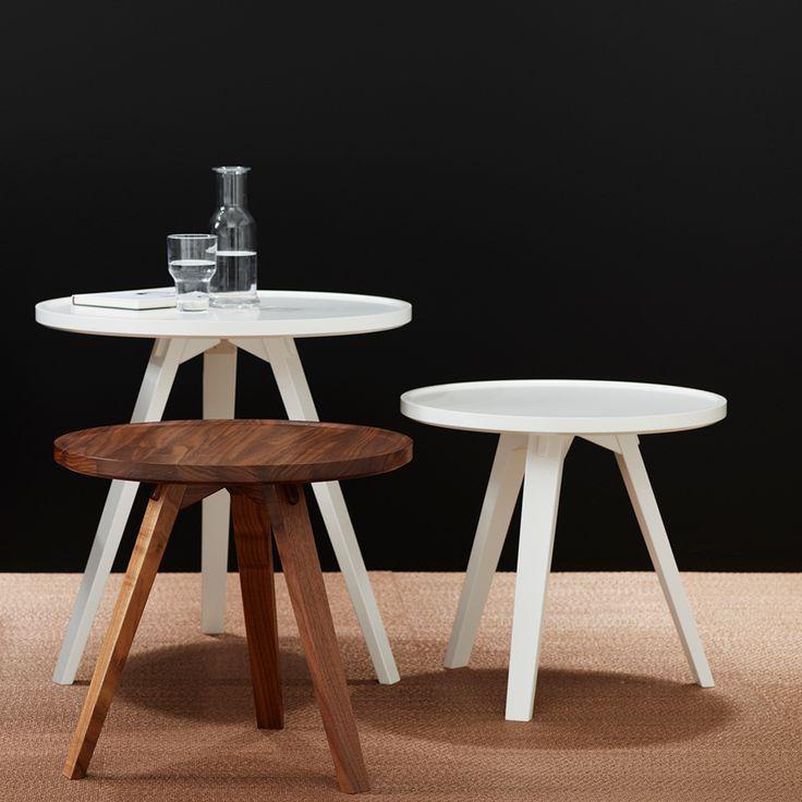 Mill bord kvadratiskt - ek, 90x90 cm - Soffbord & småbord – Möbler från Svenssons i Lammhult