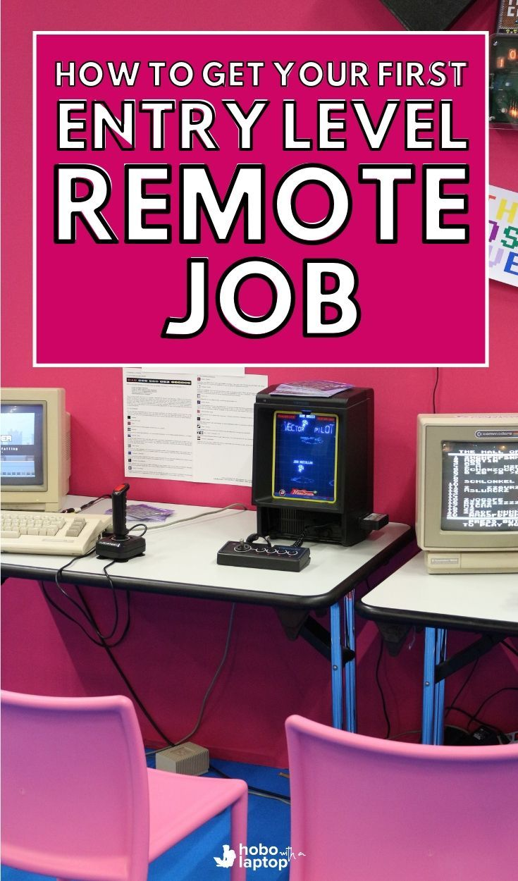 How to Get Your First Remote Entry-Level Job