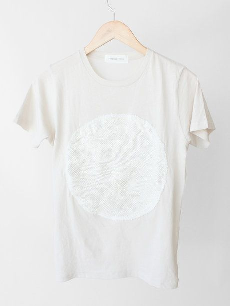 Correll Correll Knit Circle Tee - on hanger