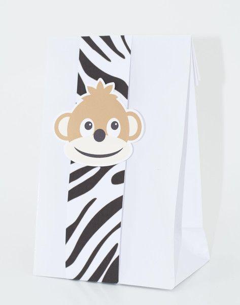 """Gastgeschenke Kindergeburtstag """"Safari"""", 5 Stk von PartyZeit auf DaWanda.com"""
