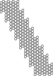 diagonal peyote  ~ Seed Bead Tutorials