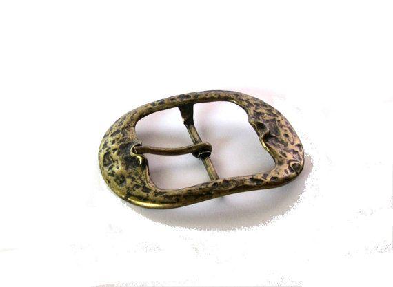 Brass belt buckle. Metal belt buckle. by Underlyingsimplicity