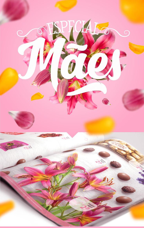 Encarte Revista Veja - Mês das Mães Comper 2016 on Behance