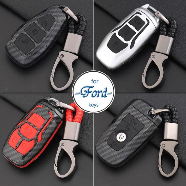 Car Styling Keychain For Ford Focus Fiesta Mustang Mondeo Kuga Eco Sport Edge Exploror Key Ring Organizer Key Case Cover Holder Review Ford Focus Key Case Ford