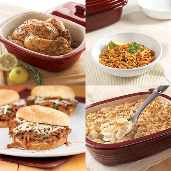 Find your dinner inspiration: 30 recipes for the Deep Covered Baker www.pamperedchef.biz/JenGrimes,  Jen Grimes, Independent Consultant with The Pampered Chef, Schaumburg, IL