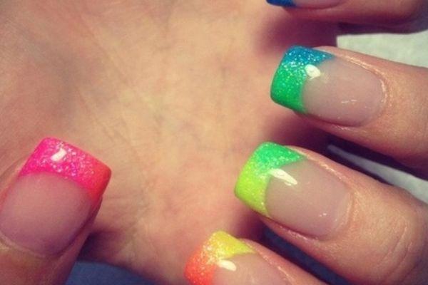 neon nail art designs 6