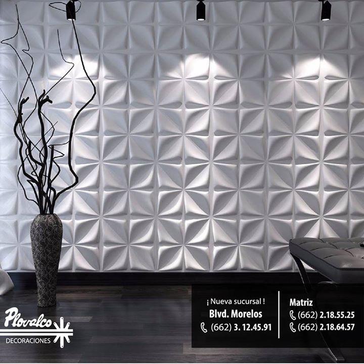 Dales un toque diferente a tus paredes con nuestros Paneles Decorativos 3D!! - http://ift.tt/1QIZuz0