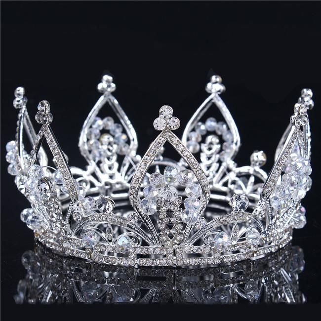 Korea Wedding Tiaras And Crowns High Quality Wholesale Hair Accessories Shining Glamour Bridal Sparkling Crystals Princess Crown Crowns Tiaras And Crowns Tiara Crown Wedding Bridal Online with 30.29/Piece on Dhdrhayz622722's Store | DHgate.com