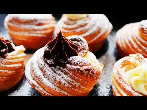 CRUFFIN - NEW TREND 2016 ♥ HOW TO MAKE CRUFFIN ♥ Original Cruffin Recipe ♥ Tasty Cooking - YouTube
