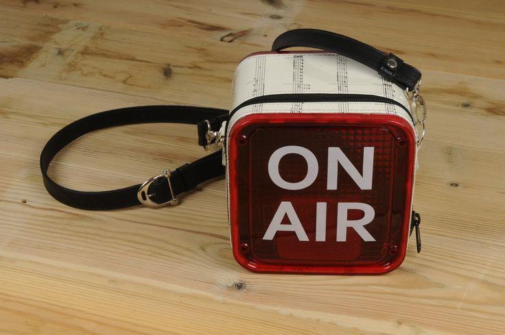 ON AIR Recording studio light cross body bag