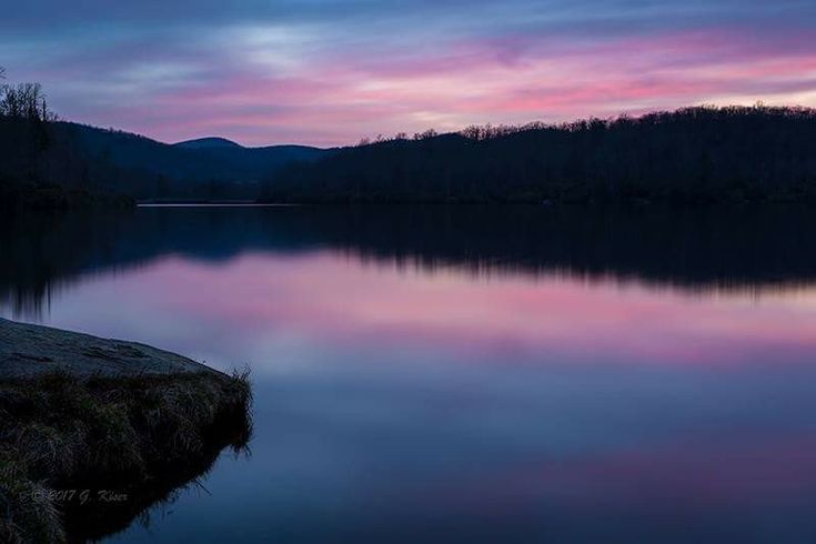 Peace and Tranquility ... Price Lake on the Blue Ridge Parkway near Blowing Rock, NC -- by Greg Kiser Photography via Blue Ridge Country