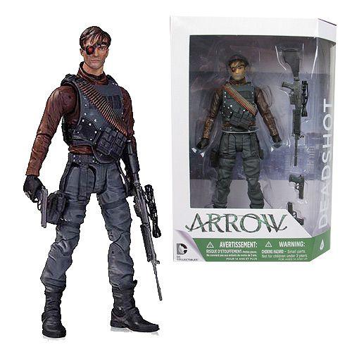 Arrow TV Deadshot Action Figure - DC Collectibles - Green Arrow - Action Figures at Entertainment Earth