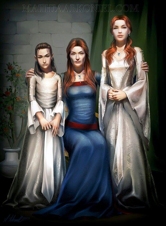 Arya, Catelyn, Sansa