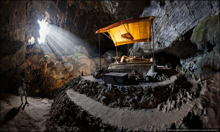 Пещера Tham Poukham Cave - Новогодний Лаос - 2014 - Фото галерея - Форум путешественников MB-WORLD.RU