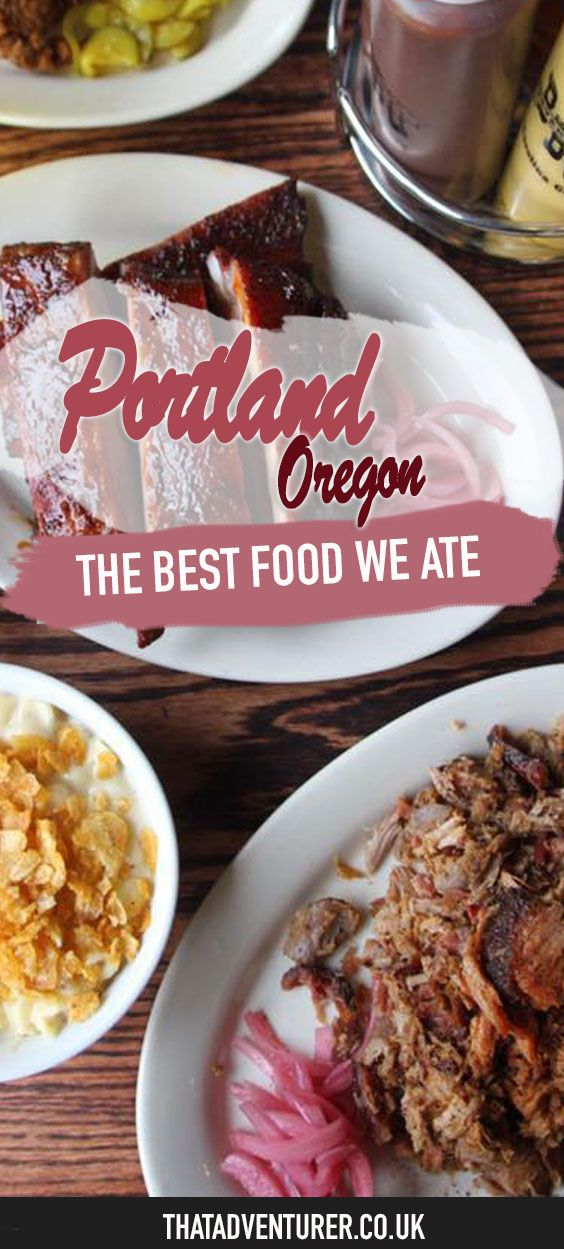 Are you visiting Portland, Oregon? Take a look at this round up of the best food we ate in the city of Portland featuring some of the best restaurants, doughnuts and more from this Pacific north west city