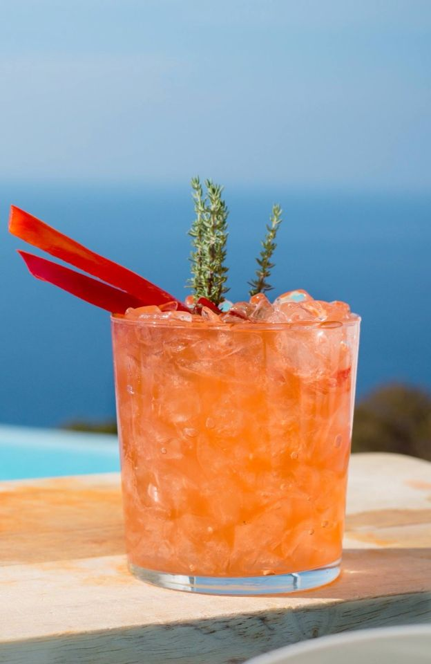 Gin Mare, Red Pepper, Rosemary ...