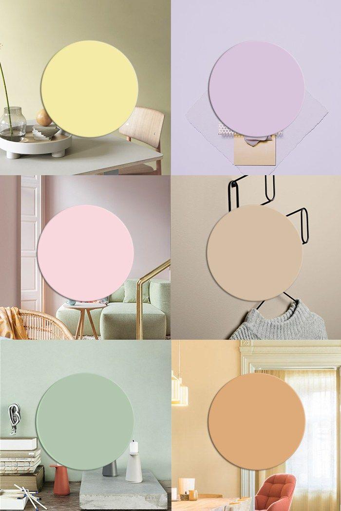 Interior Color Trends 2019 Pastel Interiors And More Color Trends Pastel Interior Colorful Interiors Trending Decor