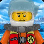 LEGO City Rapid Rescue - Rädda nödställda med hjälp av båt, jetski och helikopter | Pappas Appar