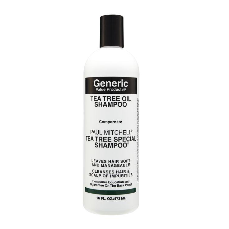 Generic Value Products Tea Tree Oil Shampoo compare to Paul Mitchell Tea Tree Special Shampoo