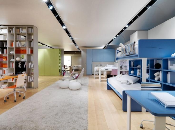Foto z italského showroomu | Luxusní dětský nábytek http://ZALF.cz