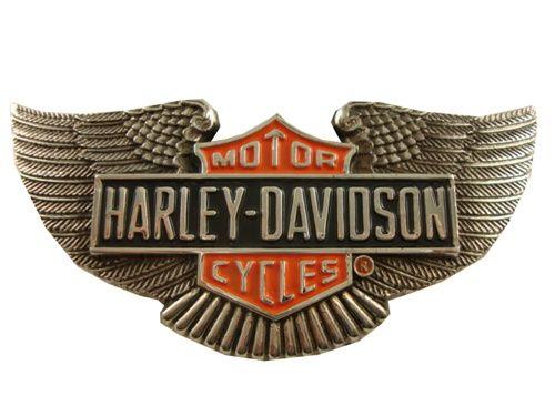 vintage harley davidson | Vintage Harley Davidson Motorcycles Silver Wings Belt Buckle #HarleyDavidson #Vintage