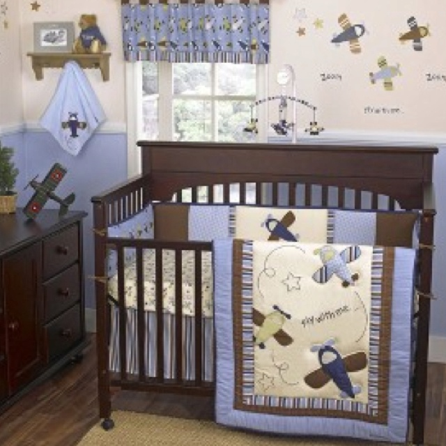 Boy S Room Airplane And Constellation Wall Map: Airplane Nursery! :)