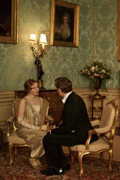 """Lady Edith & """"Friend"""". Season Four of Downton Abbey"""